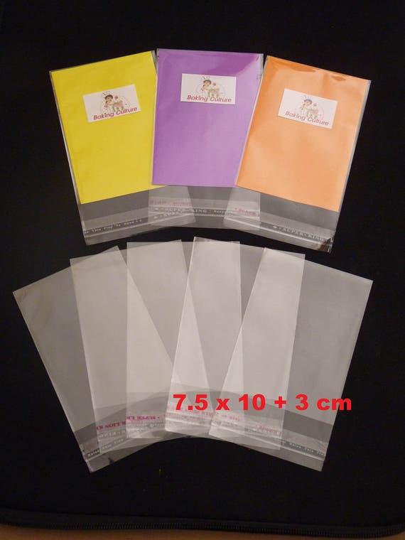30mm lip Fit 100 A4 Sheets 237mm x 356mm Cellophane Display Bag A4 x 100