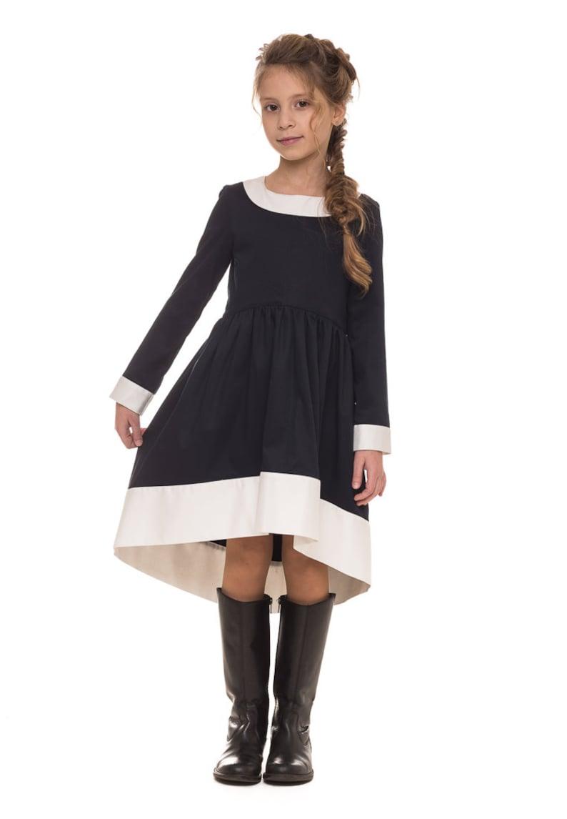 c97693df27 Back to school black dress school girl dress preschool | Etsy