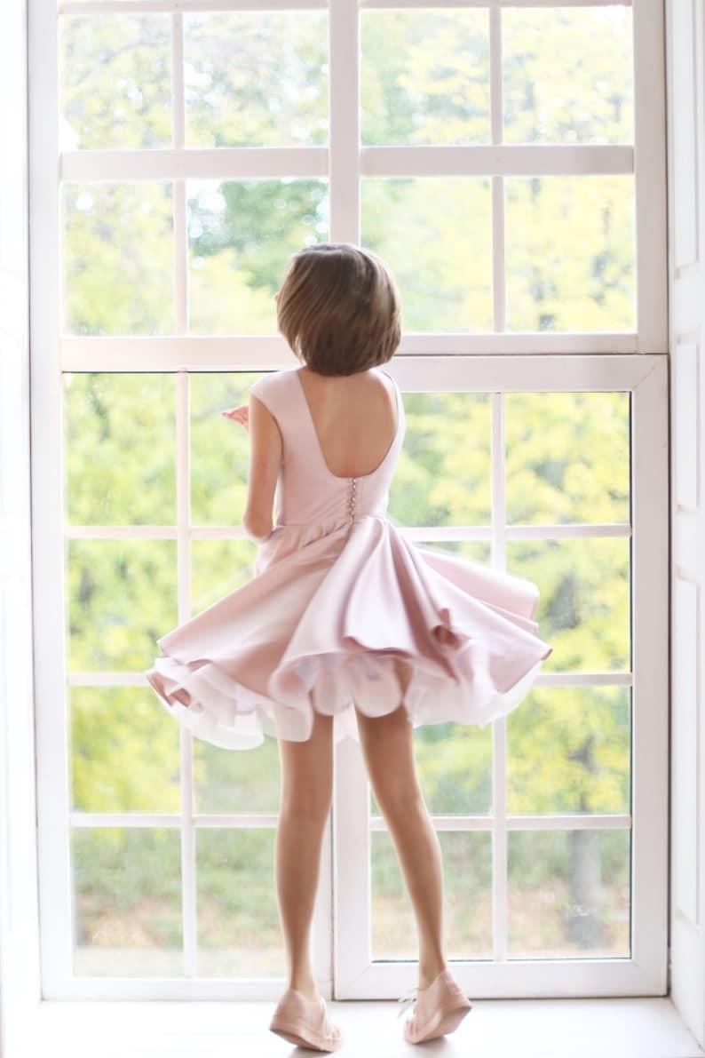 c1050cf018f29 Powder dress for girl Flower girl Dress Party Girl Dress | Etsy