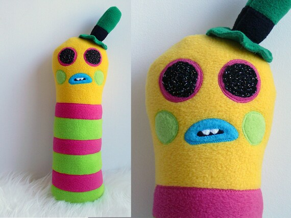 Mr Dinkles Plush Toy Soft Toy Mr Dinkles Felt Toy Fleece Etsy