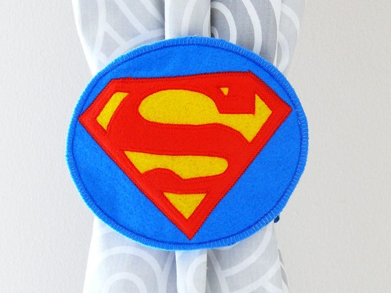 2 Rideau Nouer Dos Super Heros Super Embrasses Dos Papillon Etsy