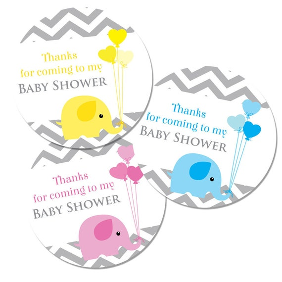 Thank You For Coming To My Baby Shower 60mm Stickers Etsy