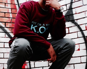 King Of Sweats Classic, Fit For A King Sweater