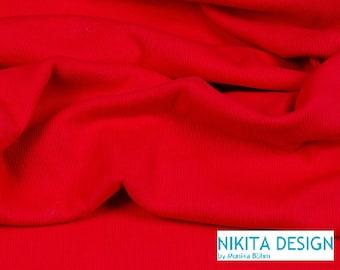 1 m wide Hilco cuffs red ÖKOTEX