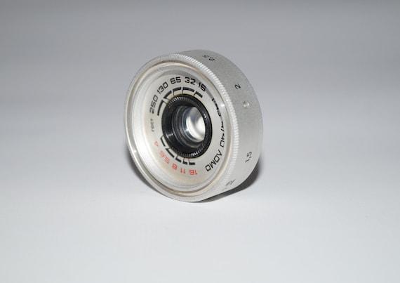 Soviet unmarked lens  ussr camera lenses  antiq camera lenses  Soviet unmarked lens