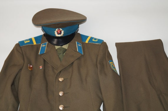 Soviet army uniform USSR army uniform Army costume