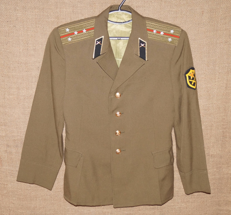 Military uniform Clothing USSR Military Soviet Army Suit Jacket Soviet USSR jacket Military clothing Soviet uniform Collectibles 5gibPJ