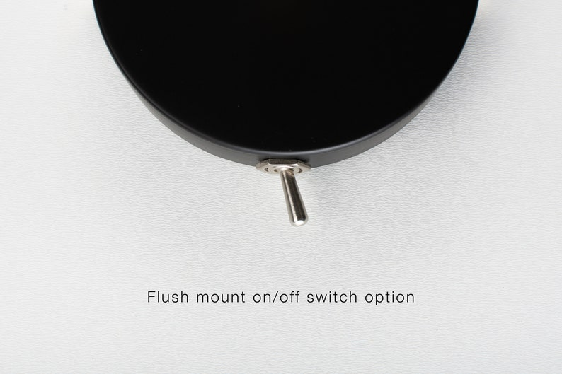 Folke Wall Sconce Black On/Off Switch & Plug-in | Etsy