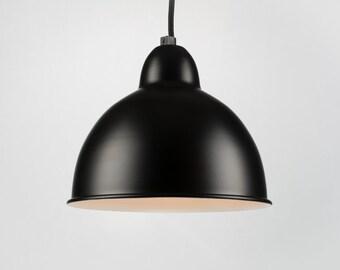 Retro Ceiling Pendant With Shade | Black | Retro | Loft | Industrial | Minimalist | Lamp