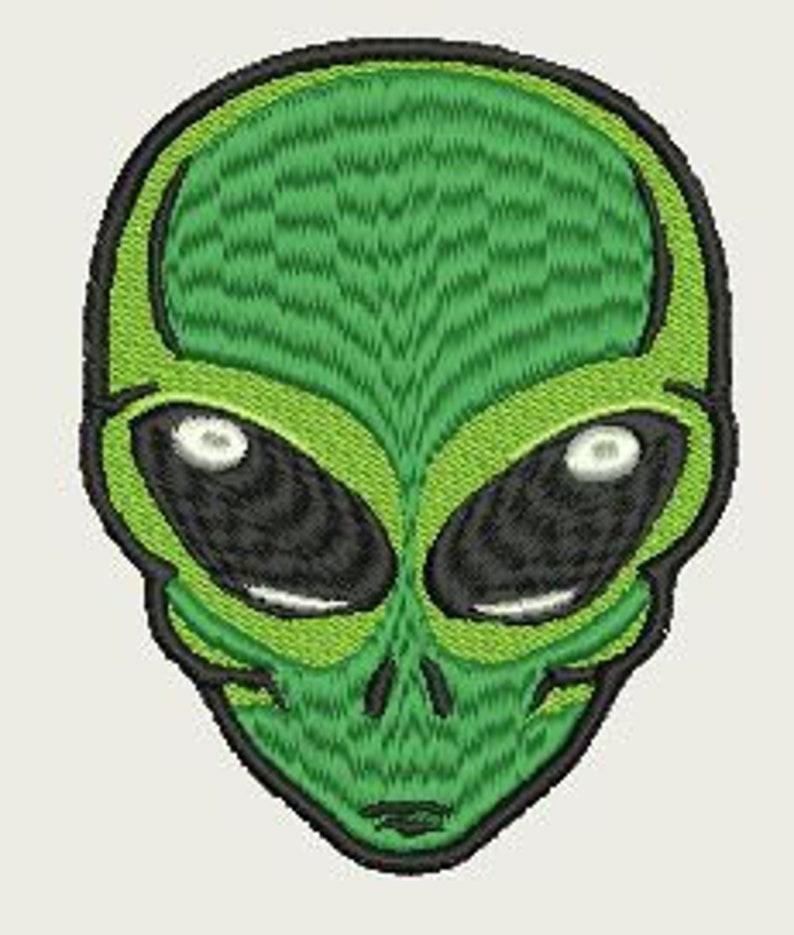 Alien 2 Machine Embroidery Design