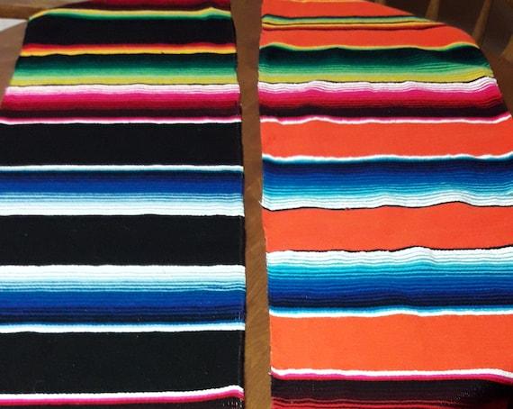 Serape, table runner, Mexican table runner, bohemian decor, fiesta table runner, table runner, day of the dead, Mexican serape, festive