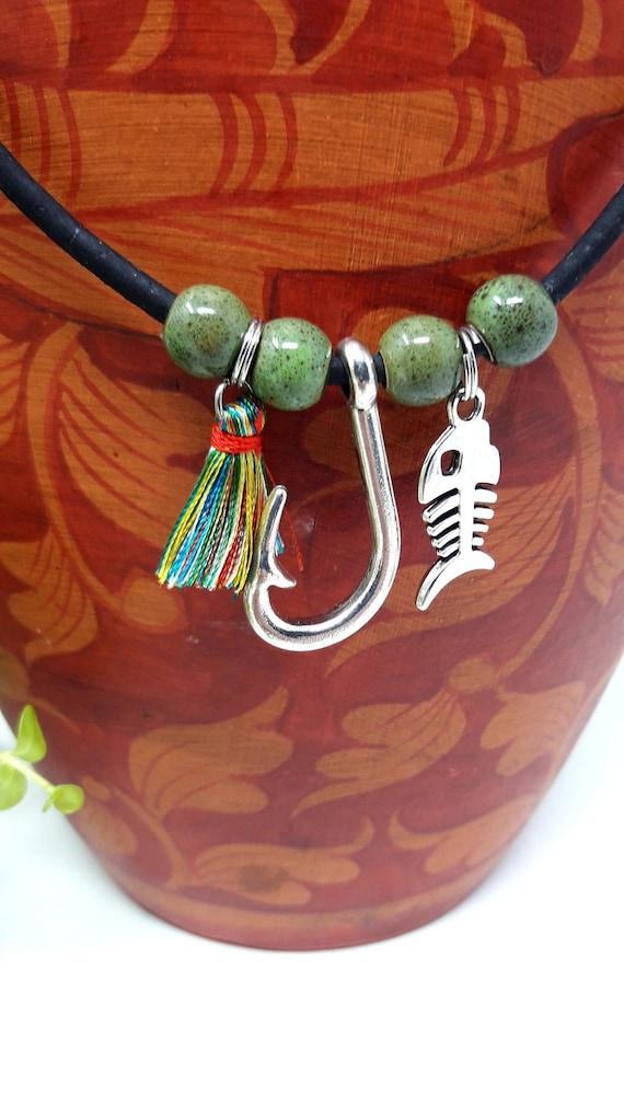 Original Design, Custom length Portuguese cork necklace with gift bag