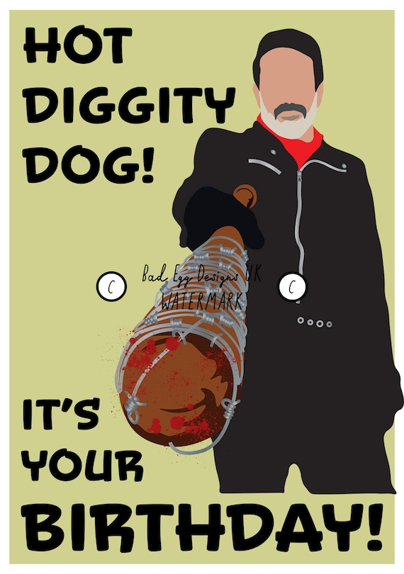 Hot Diggity Dog Walking Dead