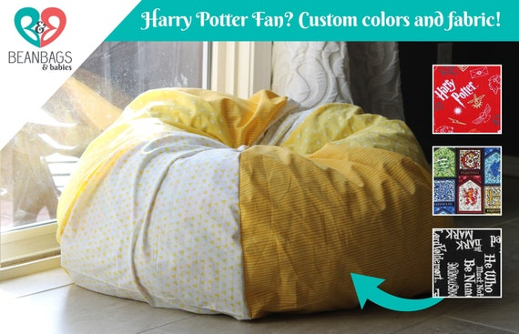 Brilliant Custom Harry Potter Gift Bean Bag Chair Cover Harry Potter Decor Bean Bag Chair Cover Only Bean Bag Chair Christmas Gift Andrewgaddart Wooden Chair Designs For Living Room Andrewgaddartcom