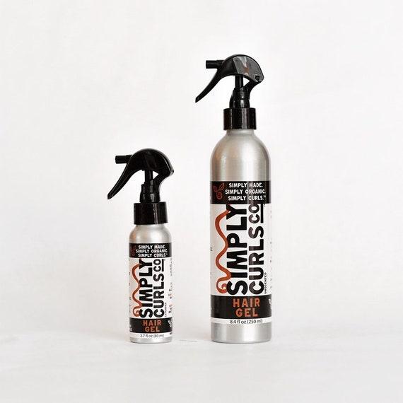 Organic Hair Gel Flaxseed Gel Curly Hair Products Hair Etsy