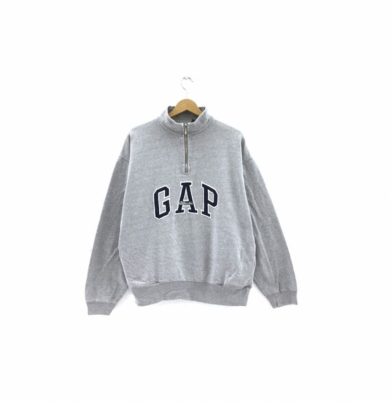 Vintage Gap Sweatshirt Biglogo spellout embroidery