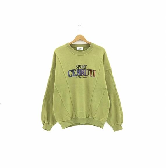 Vintage Cerruti Sweatshirt biglogo Made in Japan s
