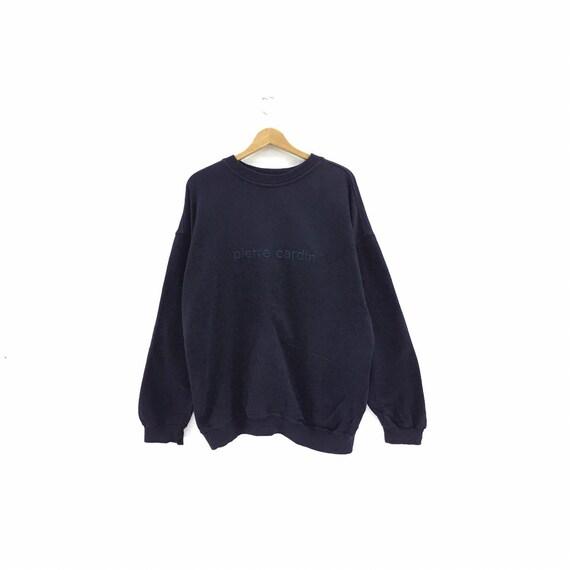 Vintage Pierre Cardin Paris Sweatshirt Biglogo Emb