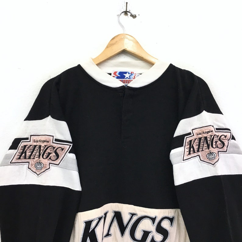 Vintage Starter Kings Team Major League Baseball Sweatshirt Biglogo Spellout Pullover Jumper vintage men clothingVintage men clothing