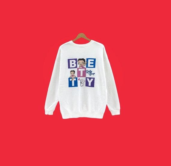 Vintage Betty Boop sweatshirt vintage men clothing
