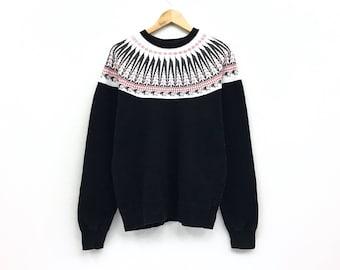 Rare!! PHERROW'S sportswear sweatshirt pullover jumper half zipper orange colour large size 4rQA4