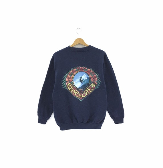 Vintage 90's Gotcha Sweatshirt Big Logo Surfing Br
