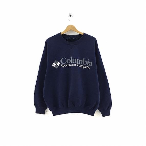 Vintage Columbia Sportswear Sweatshirt Big Logo st
