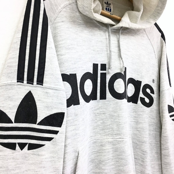 Vintage life Striped Very Full Biglogo Hoodies Lo Embroidery rare vintage Streetwea men Swag clothing Adidas Hiphop 90's RAqw5AO