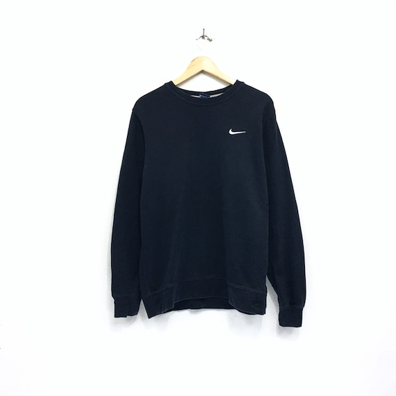 982ff8120907 Nike Sweatshirt small logo Rare Vintage Nike swoosh Hiphop