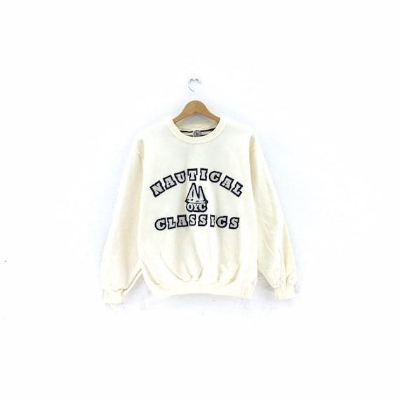 Vintage Nautical Classics Sweatshirt Big logo Pull