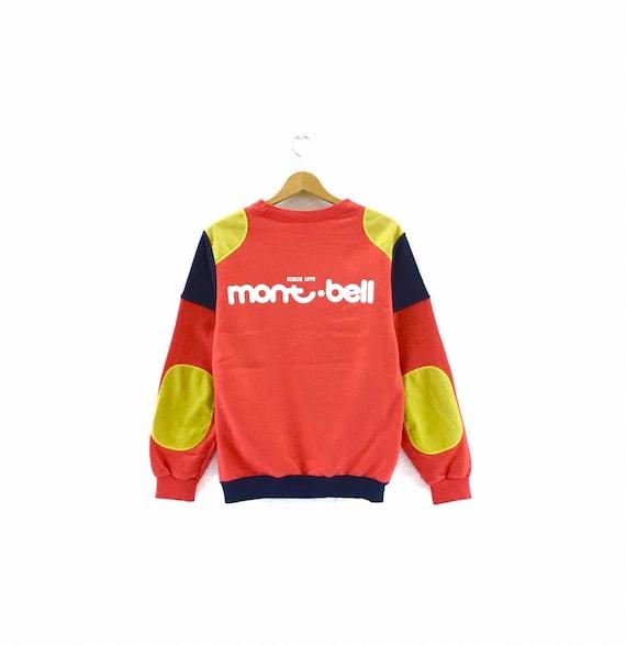Vintage Mont Bell Sweatshirt Big Logo streetwear S