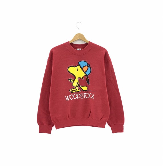 Vintage 80's Woodstock Sweatshirt Peanuts Snoopy S