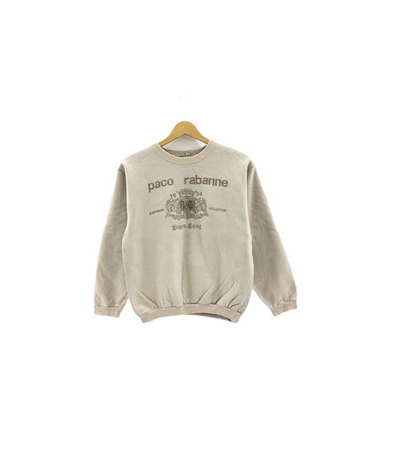 Vintage Paco Rabanne Sweatshirt biglogo spellout e