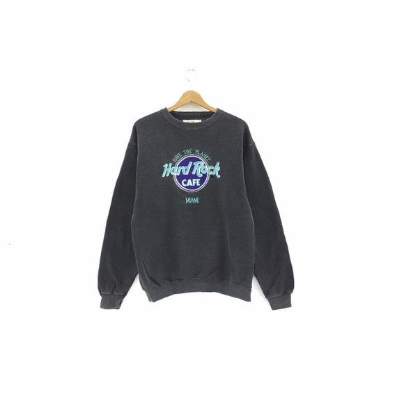 Vintage 90's Hard Rock Cafe Miami Sweatshirt  Rare