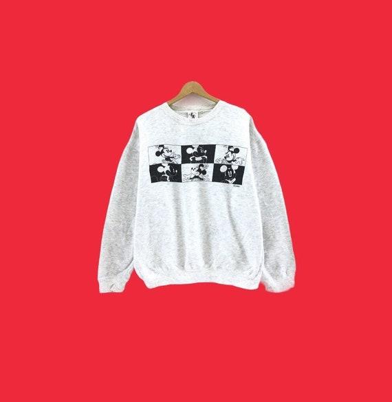 Vintage 90's Mickey Mouse Sweatshirt  Biglogo Disn