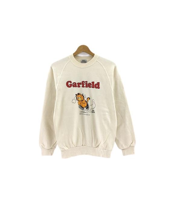 Rare!!Vintage 70's Garfield Sweatshirt Jim Davis B