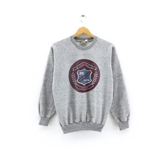 Vintage Roseville College University Sweatshirt Bi