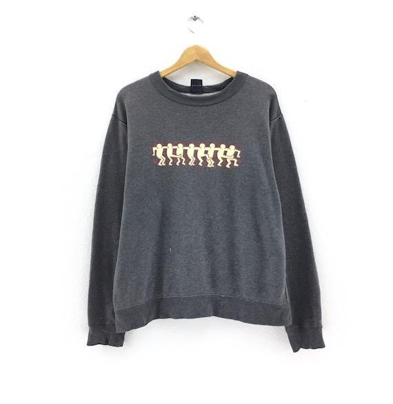 Keith Haring Sweatshirt Biglogo spellout sweatshir
