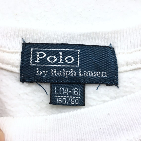 clothingVintage swag Pwing hiphop men Ralph streetwear Vintage clothing Polo Big vintage Rare Polo Thrift logo men Lauren Sweatshirt SRZBvxEwq