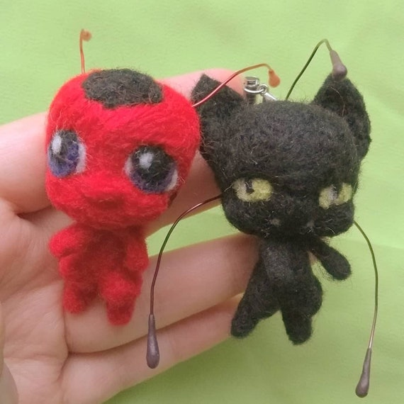 Miraculous Crochet Amigurumi of Ladybug and Cat Noir – So Good ... | 570x570