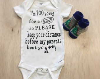 Just gonna Kick it with my Mommy Bodysuit Baby  Baby Shower Gift Nursery Custom Clothing Infant {K108}
