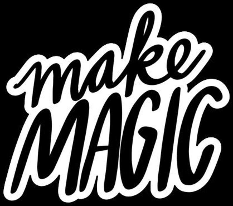 Make Magic  Sticker image 0