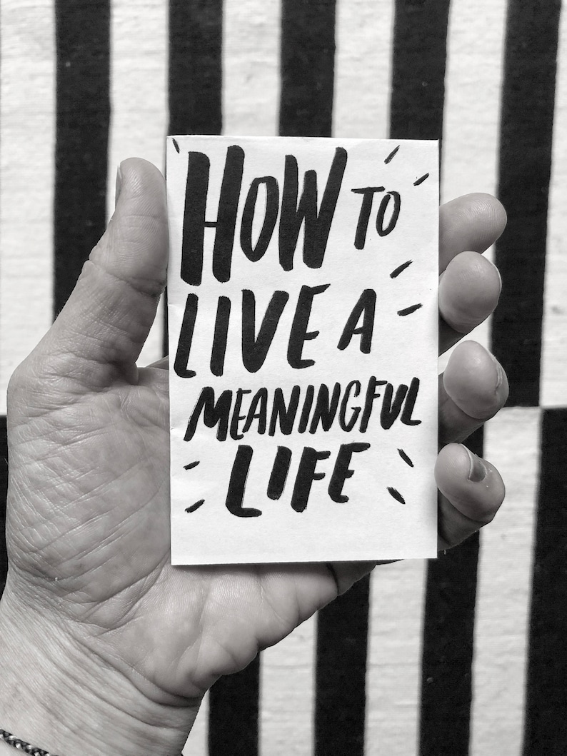 How to Live a Meaningful Life image 0