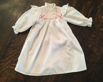 American Girl Samantha's Nightgown From Samantha's Sweet Dreams Collection