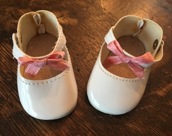 American Girl Samantha's White Party Slippers