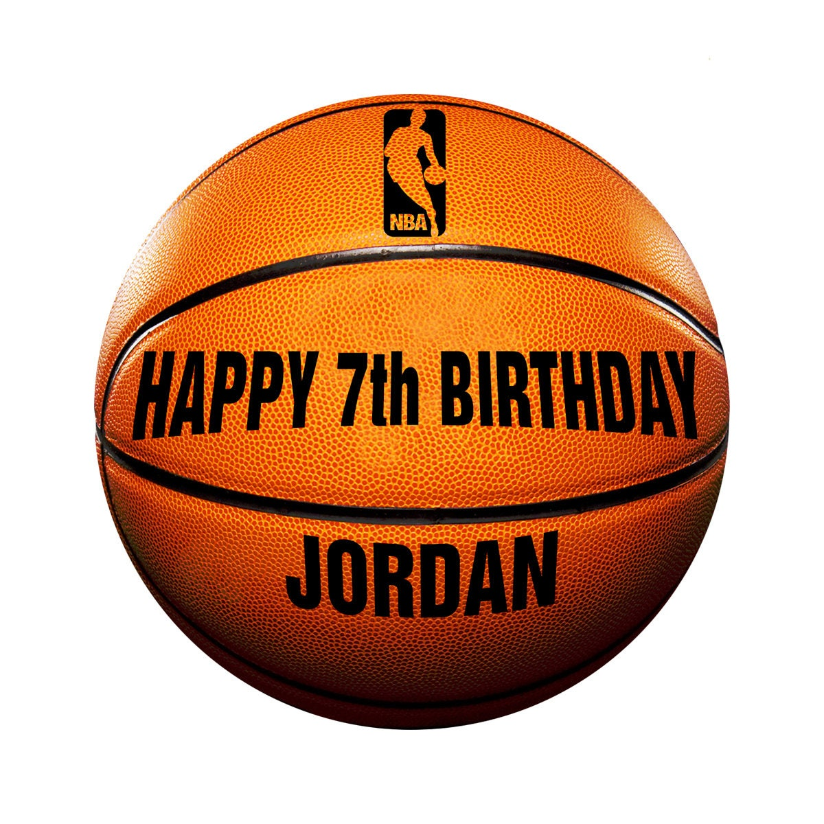 Basketball Edible Icing Image Cake Decoration Birthday ...