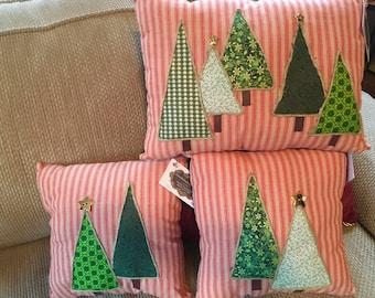 Pine tree, evergreen pillows