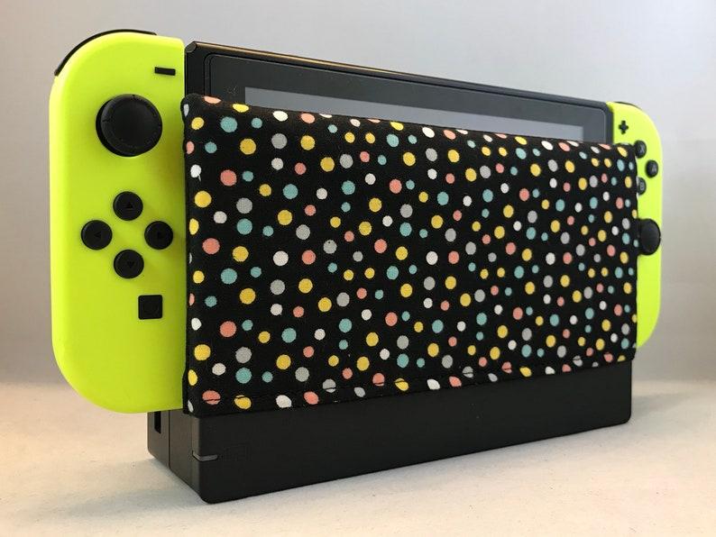Multi color Polka dot - Nintendo Switch Dock Cover – Switch Screen  Protector - Nintendo Switch Dock Sleeve – Dock Sock - Microsuede Cloth