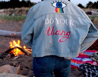 Do Your Thang Denim Jacket