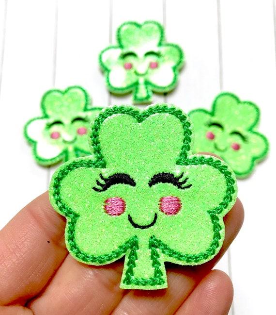 leprechaun irish st patricks resin planar flatbacks embellishments craft hair